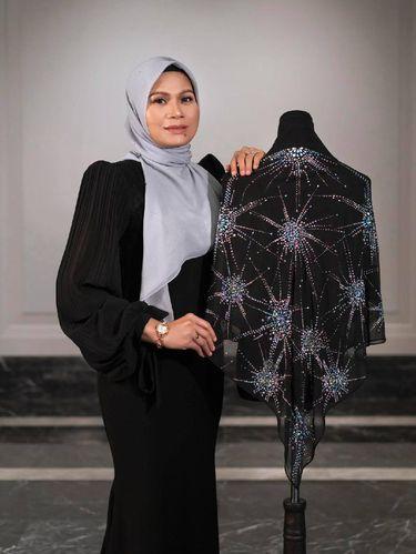 Koleksi hijab Bawal Exclusive