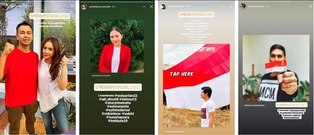 Instagram #merahputihchallenge