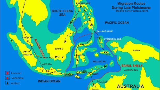 Jalur Migrasi ke Sundaland
