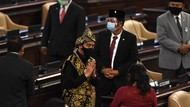 Penampilan Jokowi Berbaju Adat NTT di Sidang MPR/DPR
