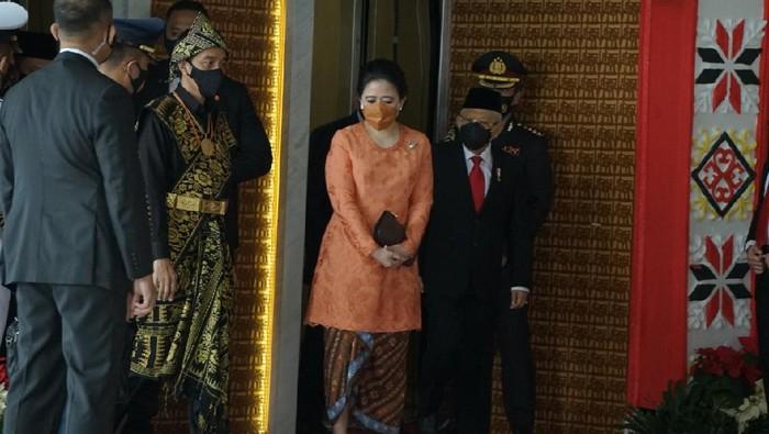 Presiden Jokowi menghadiri sidang MPR-DPR-DPR 2020