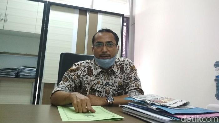 Kasie Pendapatan dan Penetapan Bapenda Jabar Wilayah Cirebon Wawan Sudrajat.
