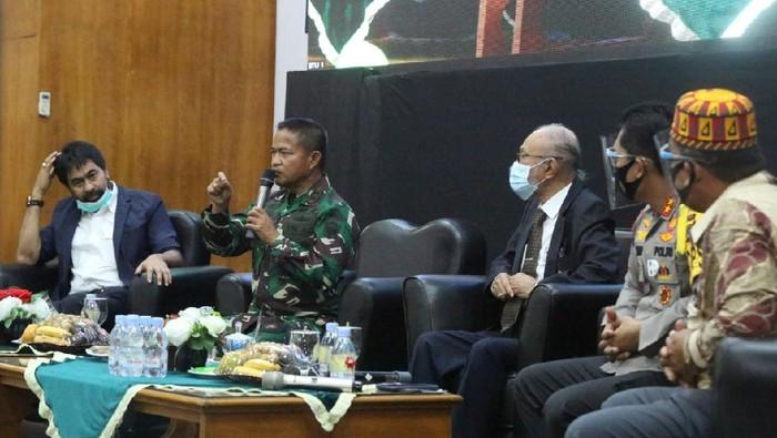 Kegiatan bertema Aceh Damai, Bangkit dan Maju yang digelar Kodam Iskandar Muda (Dok. Istimewa)
