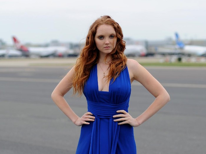 LONDON, ENGLAND - JUNE 01: (DAILY STAR OUT, DAILY SPORT OUT, STAR ON SUNDAY OUT, THE PEOPLE OUT) Lily Cole attends the launch of Gatwick Runway Models, the search for Britains next supermodels in partnership with Storm Model Management at Gatwick Airport on June 1, 2010 in London, England.  (Photo by Gareth Cattermole/Getty Images)