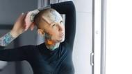 Ingin Jadi Manusia Robot, Model dengan 100 Tato Pasang Implan Tanduk di Kepala