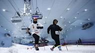 Wow! Ada Lomba Lari Salju di Dubai