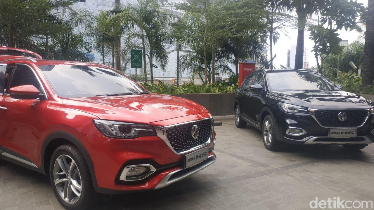 MG HS, Penantang Honda CR-V Cs Seharga Rp 300 Jutaan
