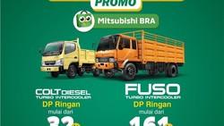 Promo Mitsubishi Colt Diesel & Fuso, Nikmati Cicilan Bunga 0% Setahun