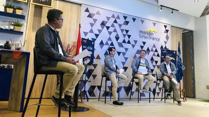 Mandiri Tunas Finance menggelar pameran virtual otomotif bertajuk MTF Virtual Autofiesta 2020 sebagai bagian dari mendukung upaya pemulihan ekonomi Indonesia.