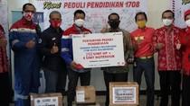 Siswa SD-SMP di Balikpapan Dapat Bantuan Gadget dari Pertamina