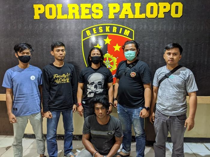 Polisi meringkus Malla Musdar (41), buronan kasus pencurian 4 ekor sapi di Kota Palopo, Sulawesi Selatan (dok. Istimewa).
