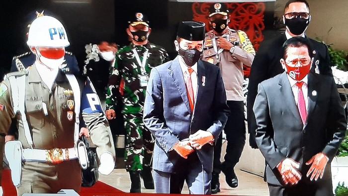 Presiden Jokowi hadiri rapat paripurna DPR (Youtube DPR RI)