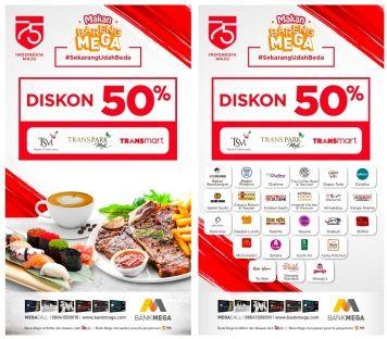 Bank Mega Beri Diskon 50 Buat Pencinta Kuliner Yakin Nggak Mau