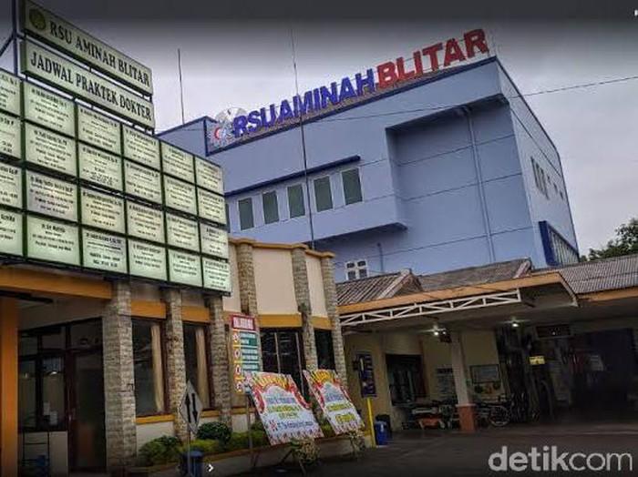 RSU Aminah di Jalan Veteran Kota Blitar