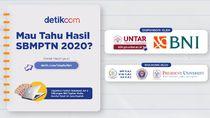Sudah Lihat Hasil SBMPTN 2020? Cek Pengumuman dan Raih Hadiahnya
