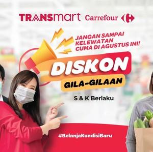 Long Weekend Jadi Seru! Ada Promo Gila-gilaan di Transmart Carrefour