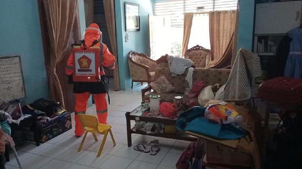 Tim Penyemprotan DPD Gerindra Sumbar/Dok Istimewa