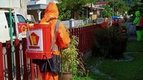 Angka Corona Padang Naik, Andre Turunkan Tim Penyemprotan Gerindra Lagi