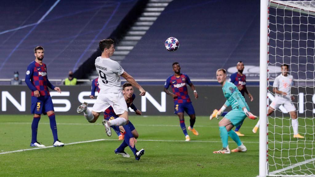 Barcelona Vs Bayern: Lewandowski Cs Permalukan Barca 8-2