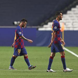 Lagi! Barcelona Terdepak di Liga Champions, Bahkan dengan Memalukan
