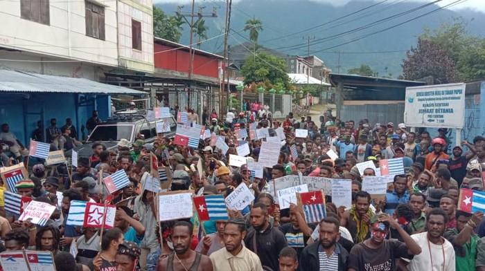 Demo ULMWP di Jayapura, Papua