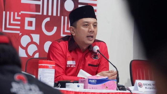 Ketua Bappilu DPD PDI Perjuangan Jatim Deni Wicaksono