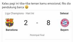 Meme Barcelona Babak Belur Dihajar Bayern