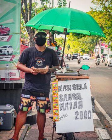 Nasi sela khas Bali