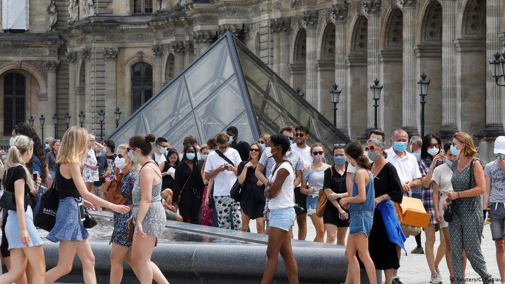 Paris Dideklarasikan Lagi sebagai Zona Merah Corona