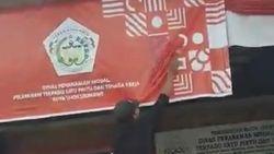 Viral Warga Cat Logo HUT RI Gegara Mirip Salib, Pemko Lhokseumawe Buka Suara