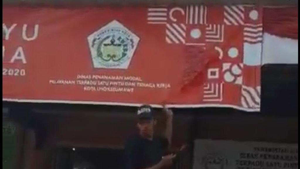 Pemda di Aceh Bantah Logo HUT RI Dicat Gegara Mirip Salib: Hanya Dilipat