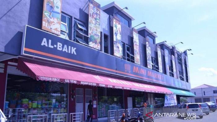 Dua karyawan Supermarket di  Tanjungpinang diamankan polisi