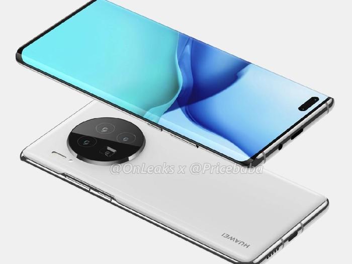 Contoh foto kamera Huawei Mate 40