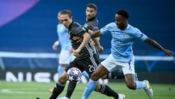 Lyon Unggul 1-0 dari Manchester City di Babak Pertama