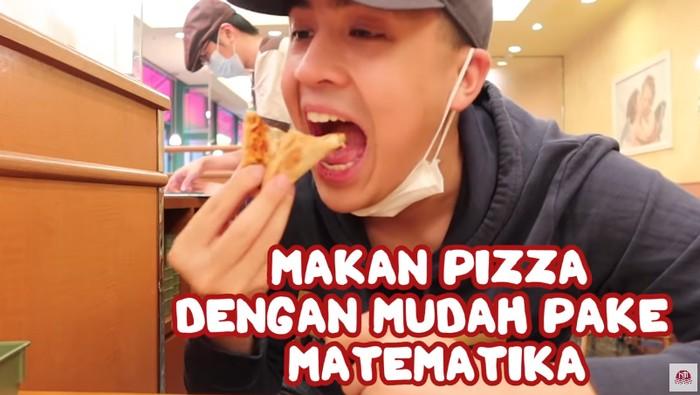 Makan Pizza Pakai Rumus Matematika