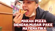 Ribet! Begini Cara Makan Pizza Pakai Rumus Matematika