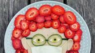 Vegan Kreatif Ini Sajikan Susunan Ragam Buah dan Sayur yang Menawan
