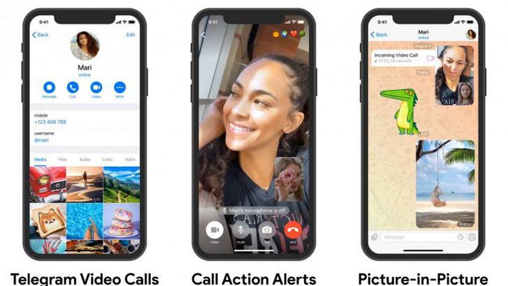 Telegram Akan Luncurkan Fitur Panggilan Video