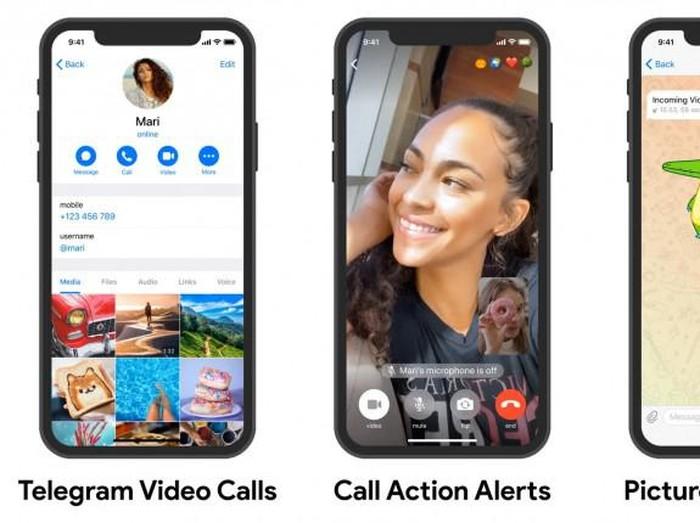 Telegram panggilan video