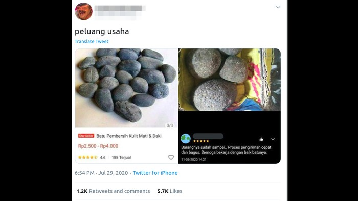 Viral batu