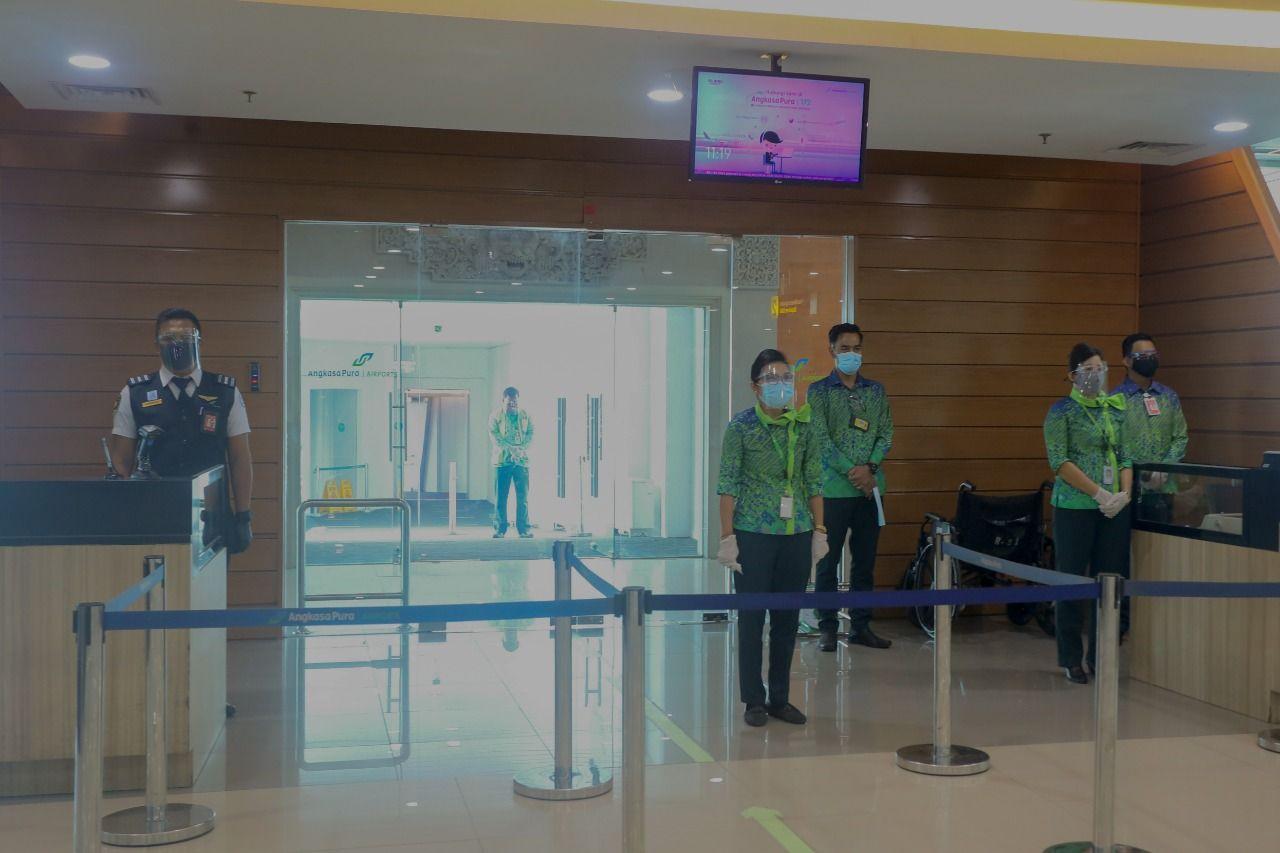 Khidmatnya Peringatan HUT RI di Bandara I Gusti Ngurah Rai