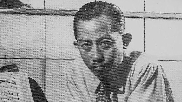Komponis Ismail Marzuki (Wikimedia Commons)