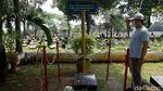 Makam Bung Hatta dan Buya Hamka Ramai Peziarah