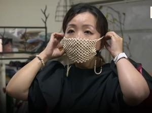 Desainer Jepang Bikin Masker Terbuat dari Mutiara, Harganya Rp 138 Juta
