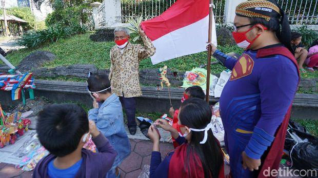 Mbah Min Semprong akhirnya bisa upacara