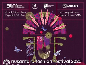 Virtual Fashion Show Terbesar di Indonesia Semarakkan HUT Ke-75 RI