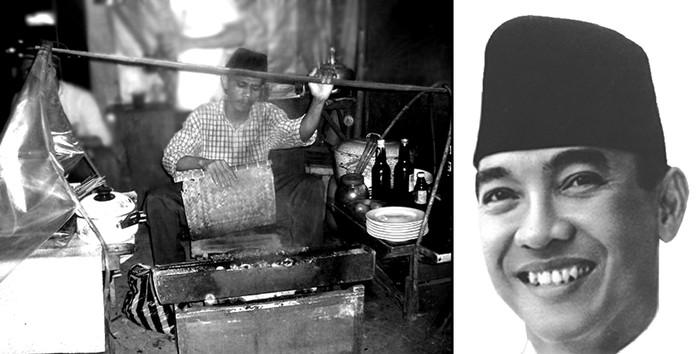 Perintah Pertama Soekarno Saat Jadi Presiden: Pesan 50 Tusuk Satai Ayam