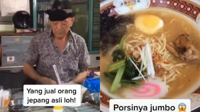 Ramen di Surabaya Viral Karena Penjualnya Asli Orang Jepang