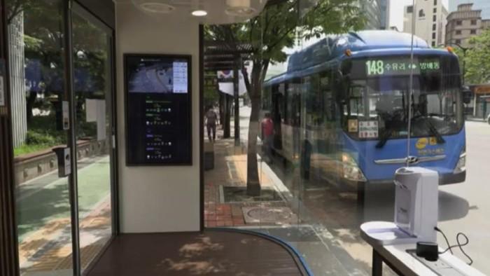 Halte bus pembasmi COVID-19