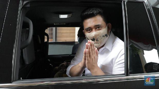 Bobby Nasution (CNBC Indonesia/ Muhammad Sabki)
